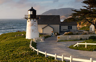 Point Montara Light lighthouse in California, United States