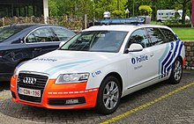 Police car of Belgium 04.JPG