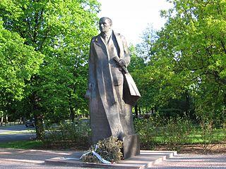 Roman Dmowski Monument, Warsaw