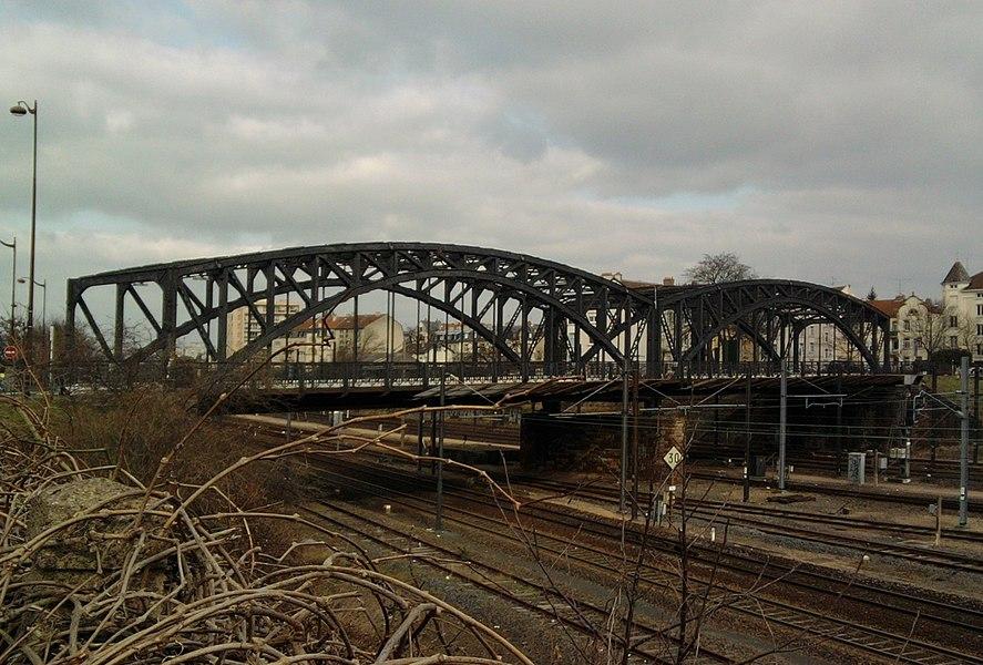 Amos bridge in Metz, Moselle (France).