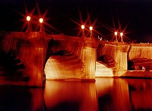 Christo and Jeanne-Claude - Pont Neuf wrapped up