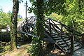 Pont portable au Clos Lucé.JPG