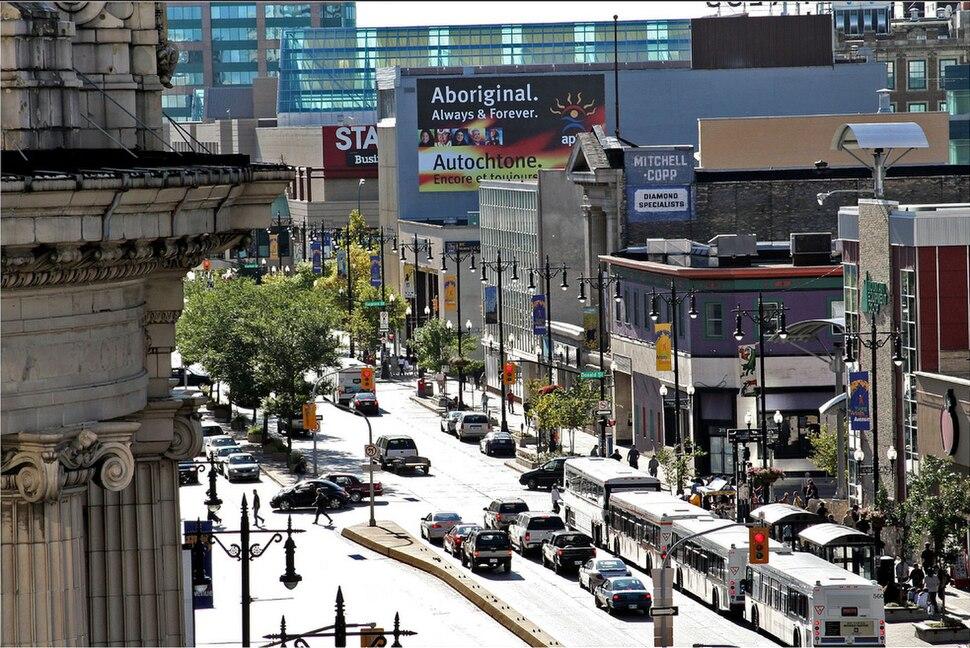 Portage Ave. Winnipeg
