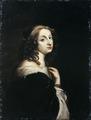 Porträtt av Drottning Kristina utfört av David Beck ca 1650 - Livrustkammaren - 65024.tif