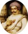 Portrait of Hyder Beg Khan, the Minister to the Nawab of A Wadh, Asaf-Au-Daula crop.png