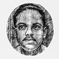 Portrait of Jibanananda Das, Ethnological Museum (02).jpg