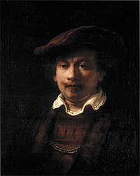 Portrait of Rembrandt, studio of Rembrandt (possibly Ferdinand Bol), c1640, private collection, Germany.jpg