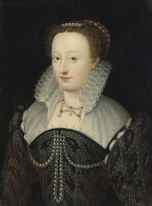 Madeleine de l'Aubespine - Portrait of a woman, said to be Madeleine de L'Aubespine, Dame de Villeroy