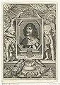 Portret van Frederik III van Denemarken Fredericvs III (titel op object) Portretten van staatslieden (serietitel), RP-P-BI-4241.jpg