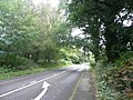 Portsmouth Road to the northeast in Liphook, Hampshire, England 2.jpg