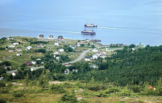 Bell Island Ferries off Portugal Cove By Silverchemist at en.wikipedia [GFDL (http://www.gnu.org/copyleft/fdl.html) or CC-BY-SA-3.0 (http://creativecommons.org/licenses/by-sa/3.0/)], from Wikimedia Commons