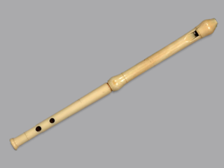 Pipe (instrument) simple wooden flute