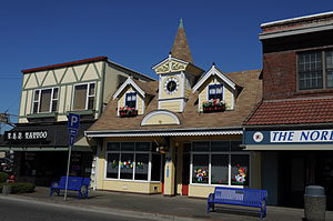 English: Senior Citizens Lounge, Front Street,...
