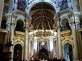 Prag - Tschechoslowakische Hussitische Kirche, St. Nikolauskirche am Altstädter Ring, Innenaufnahme - Církev československá husitská, kostel Sv. Mikuláše na Staroměstském náměstí, v interiéru - panoramio.jpg