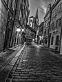 Prague street at night light cityscape (8348414087).jpg