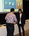 Praha, Dejvice, NTK, Wikikonference 2011, předávání Cen za rozvoj české Wikipedie III.jpg