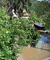 Praha-Sedlec, povodeň 2013-06-05, z vlaku.jpg