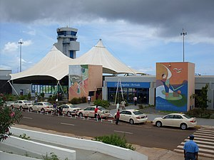 Nelson Mandela International Airport - Image: Praia International Airport