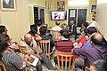 Pranatosh Sengupta Addresses From Canada Through Skype - Opening Ceremony - PAD 5th Free Short Term Course On Photoshop - Kolkata 2018-02-10 1207.JPG