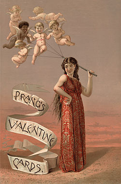 Valentine's Day card ad