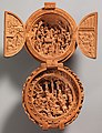 Prayer Bead with the Adoration of the Magi and the Crucifixion MET DP371962.jpg
