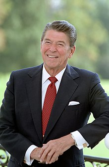 Ronald Reagan en 1984.