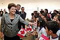 Presidenta Dilma Rousseff durante Cerimônia oficial de chegada do primeiro-ministro do Canadá, Stephen Harper.jpg