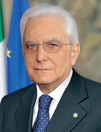 High Council of Defence (Italy) - Image: Presidente Mattarella