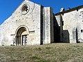 Prieuré Notre-Dame de Salagon, façade de l'église.JPG
