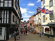 Prince Rupert, Shrewsbury