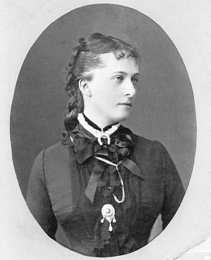 Prince George Alexandrovich Yuryevsky - George's mother, Catherine Dolgorukov, by Sergei Lvovich Levitsky and Rafail Sergeevich Levitsky, 1880 (The Di Rocco Wieler Private Collection, Toronto, Canada)