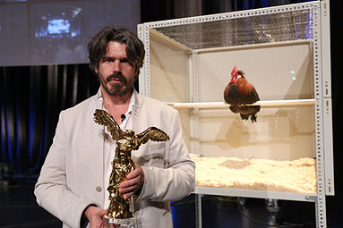 Prix Ars Electronical 2013 Koen Vanmechelen The Cosmopolitan Chicken Project 1.jpg
