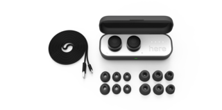 Here One wireless earbuds made by Doppler Labs