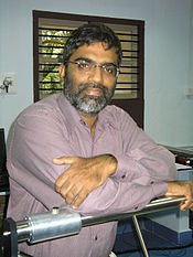 Professor T. Pradeep in his laboratory 2008.JPG
