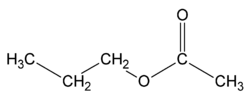 Propyl ethanoate.png