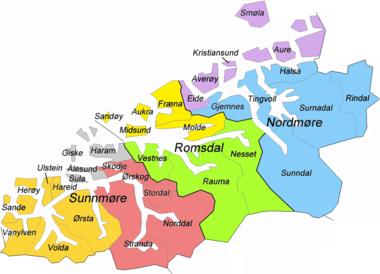 kart over søre sunnmøre Liste over kirker i Møre og Romsdal – Wikipedia kart over søre sunnmøre