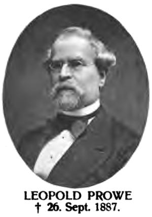 Leopold Prowe - Leopold Prowe