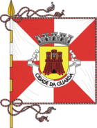 Flagge von Guarda (Portugal)