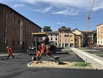 Public works - Public works in Reggio Emilia, Emilia-Romagna, Italy
