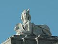 Puerta de Hierro (Madrid) - Esfinge oeste 01.jpg