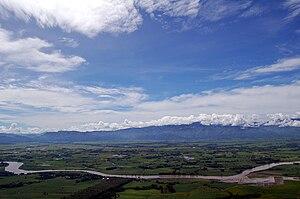 Valencia, Bukidnon - Pulangi River traversing Valencia City, Bukidnon.