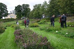 University of Helsinki Botanical Garden - The useful plant section of the Kumpula Garden on September 9, 2006
