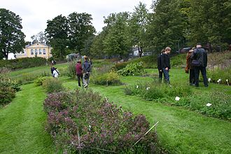 University of Helsinki Botanical Garden - The useful plant section of the Kumpula Garden on September 9, 2006