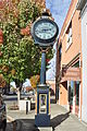 Puyallup, WA - Johnson Jewelers clock 01.jpg