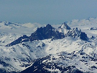 Mount Cayley massif mountain in Canada