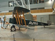 Qantas AVRO 504K replica, first plane flown by Qantas, Sydney Airport