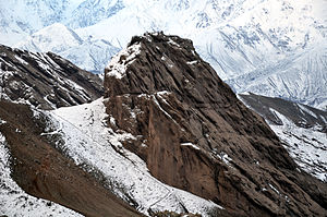 Nizari Ismaili state - Image: Qazvin Alamout Castle 3