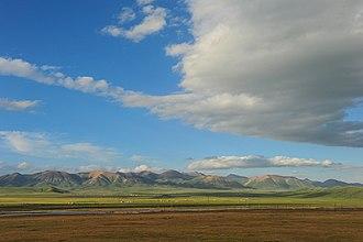 Qilian Mountains - Image: Qilian in Qilian Qinghai
