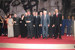 Quadriga (award) - Recipients and laudators at Quadriga 2008