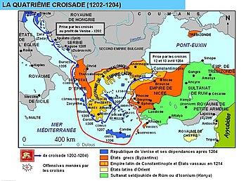 Cuarta cruzada - Wikipedia, la enciclopedia libre